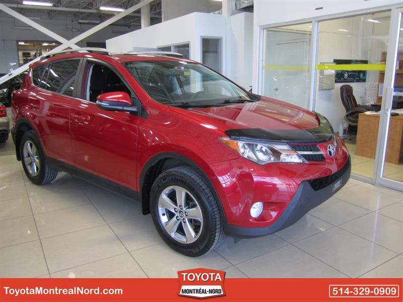Toyota RAV4 2015 XLE AWD  TOIT +MAGS #3297 AT