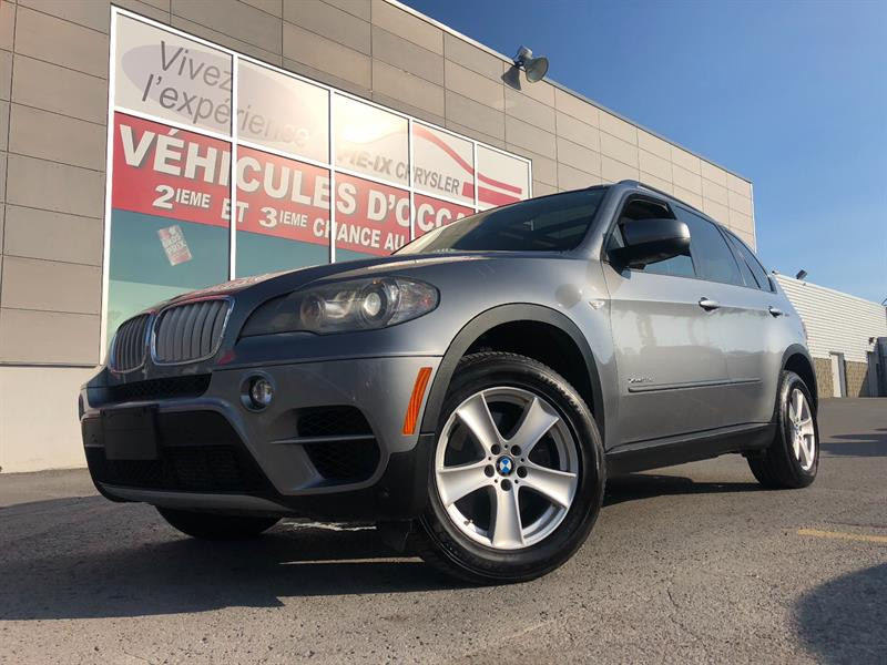 BMW X5 2011 AWD+X DRIVE+DIESEL+CUIR+TOIT PANO+MAGS+WOW! #UD4634A
