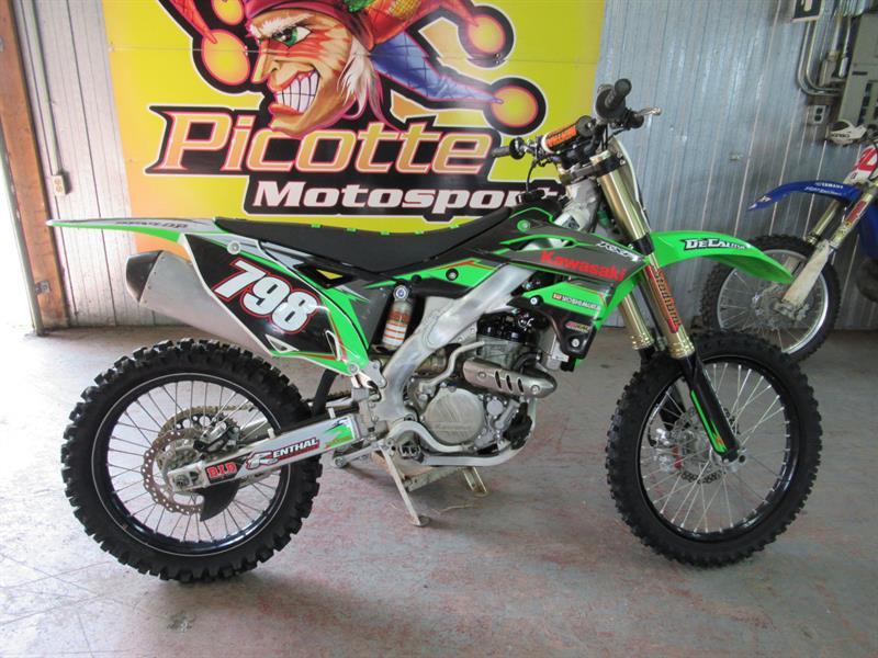Kawasaki KX250F 2014