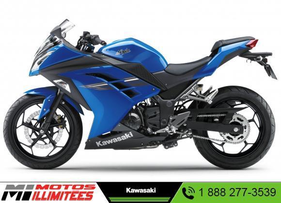 Kawasaki Ninja 300 2017 Neuf à Vendre Terrebonne Motos Illimitées