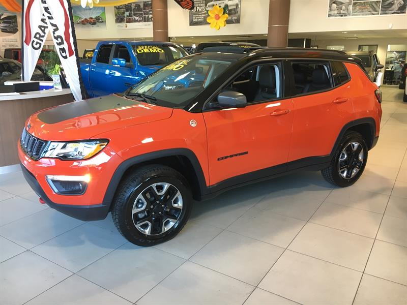 Jeep Compass 2018 Trailhawk 4x4 DEMO #C18350
