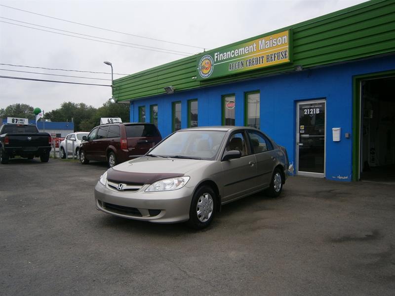 Honda Civic Sdn 2004 4dr Sdn DX-G Auto **ouverture coffre à distance** #18-004