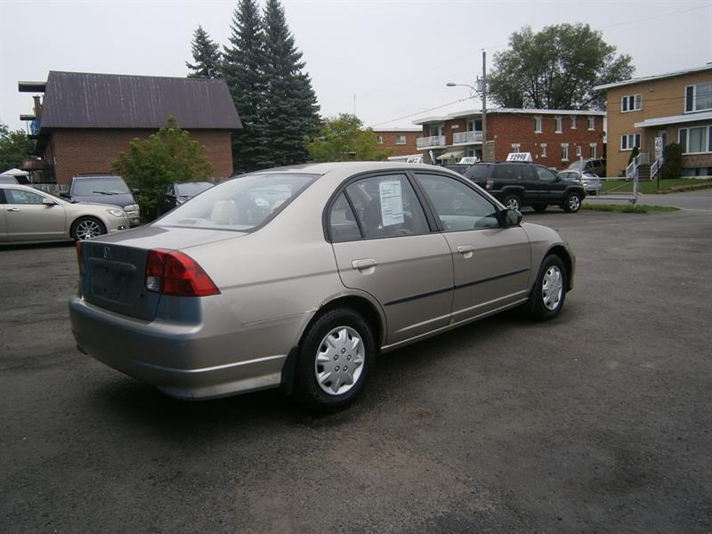 2004 Honda Civic Sdn 4dr Sdn DX G Auto Used For Sale In Saint Eustache At  Mike Auto Sport