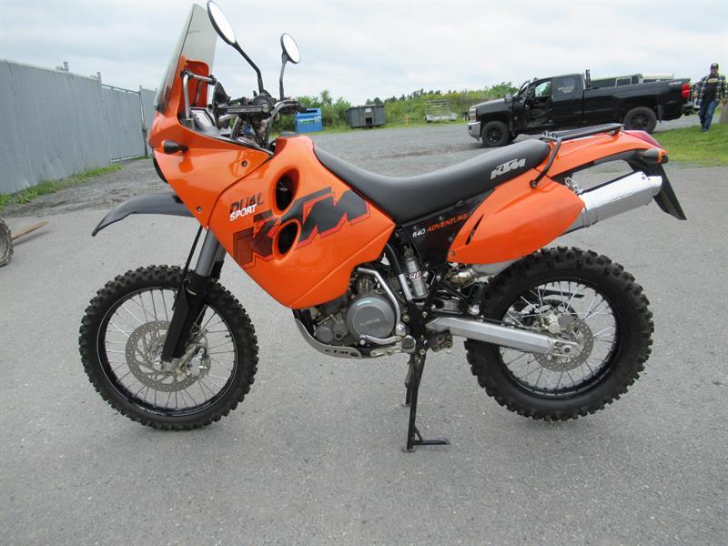 KTM 640 Adventure 2007