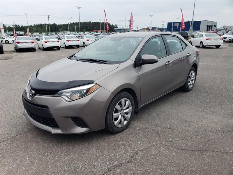 Toyota Corolla 2014 * LE * BLUETOOTH * CAM DE RECUL * GR ÉLECTRIQUES * #90024B-91