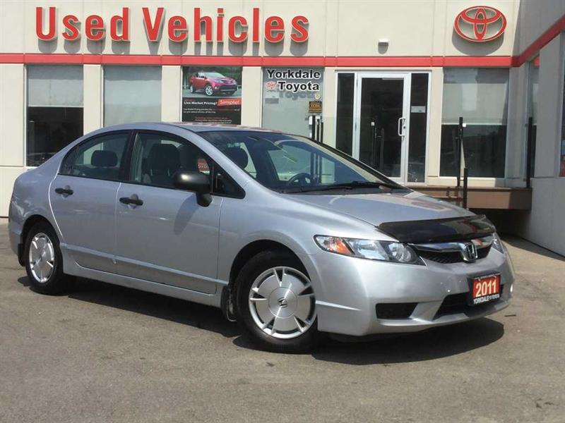 2011 Honda Civic DX-G- Cruise  Keyless Entry  Power Group  Low KMS! #8110980A