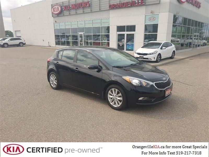 2016 Kia Forte 5-door Forte5 LX+ Automatic - Trade-in #86036A