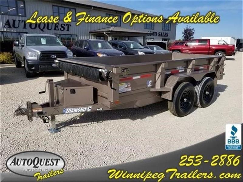 2017 Diamond C 46ED 12' x 60 Dump Trailer - 9 890K