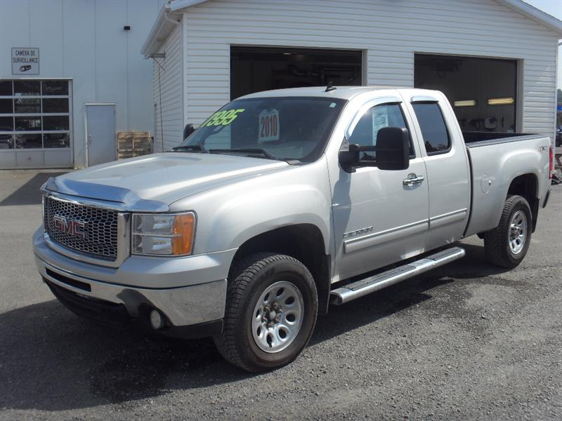 GMC Sierra 1500 2010 4WD Ext Cab 143.5 SL Nevada Edition #H7803A