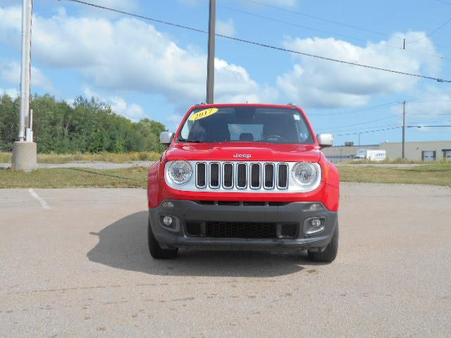 2017 Jeep Renegade 4WD 4dr Limited #MP-2496