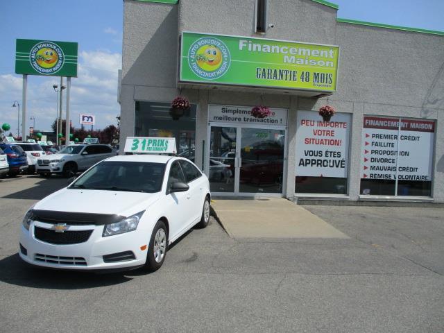 Chevrolet Cruze 2012 4dr Sdn LS w-1SA #18-126