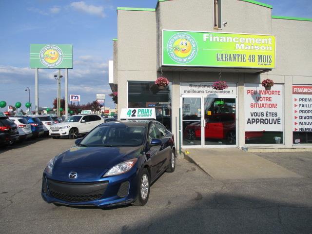 Mazda MAZDA3 2012 4dr Sdn GX **sièges&miroirs chauffants** #18-049