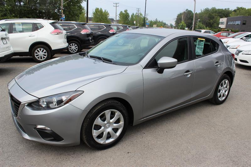 2015 Mazda Mazda3 GX-SKY *A/C* HB #4795
