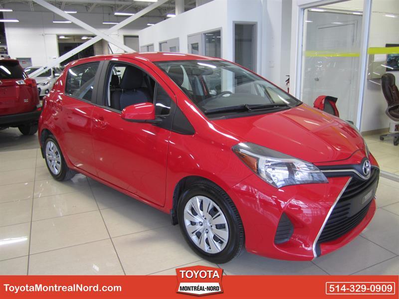 Toyota Yaris 2015 HB LE Aut/Ac/Vitres,Portes,Miroirs Electriques  #3333 AT