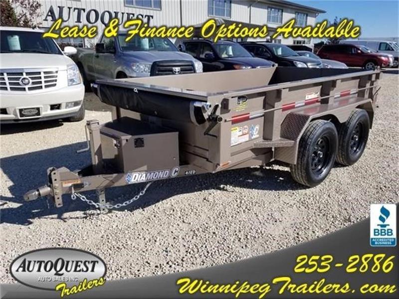 2018 Diamond C 41ED 10' x 60 Dump Trailer - 7 000K