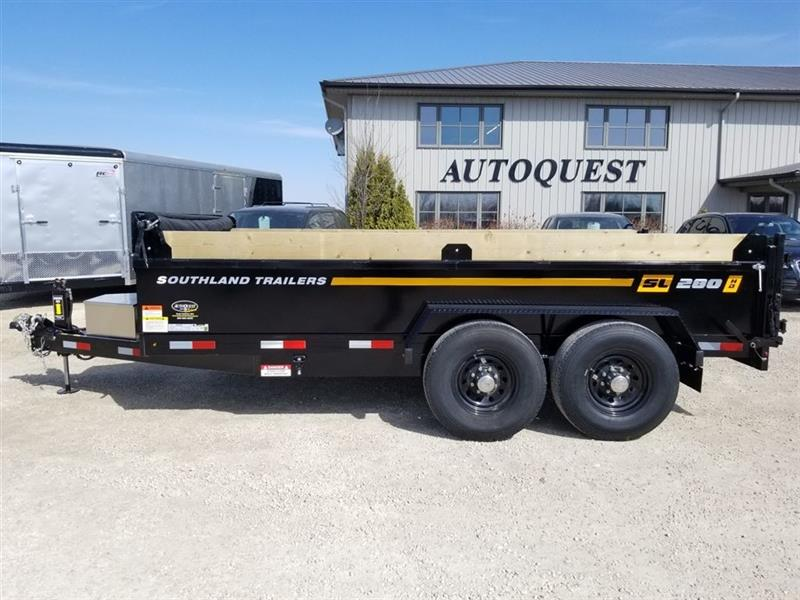 2020 Southland SL280T-HD 7' x 14' Utility Dump Trailer New for sale