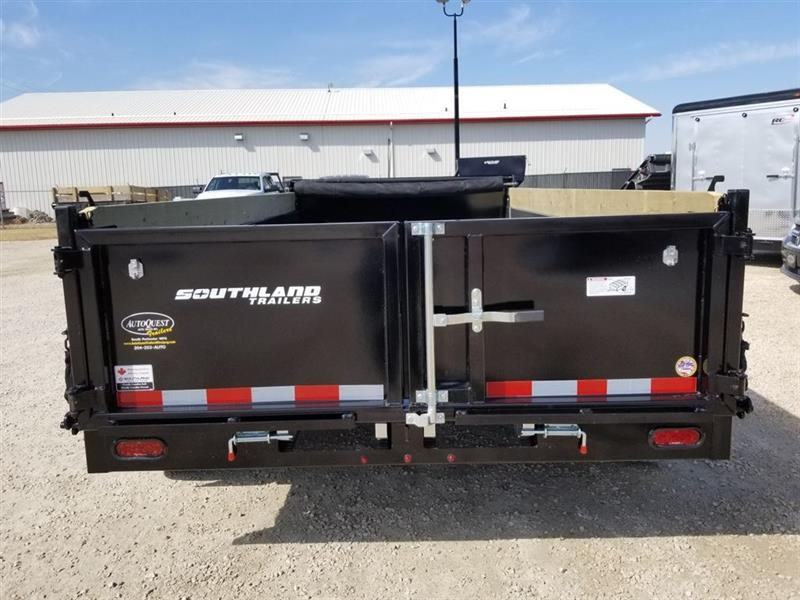 2020 Southland SL280T-HD 7' x 14' Utility Dump Trailer New for sale