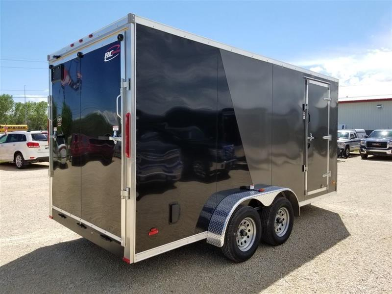 """2019 RC Trailers 7' x 16' x 84"""" V-Nose Cargo Trailer New ...  2019 RC Trailer..."""