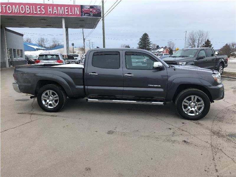 2013 Toyota Tacoma Trd Sport Limited Cuir Crew Camera Automatique