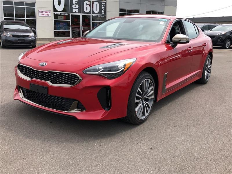 2019 Kia Stinger Gt Line New For Sale In Niagara Falls At Cardinal Kia