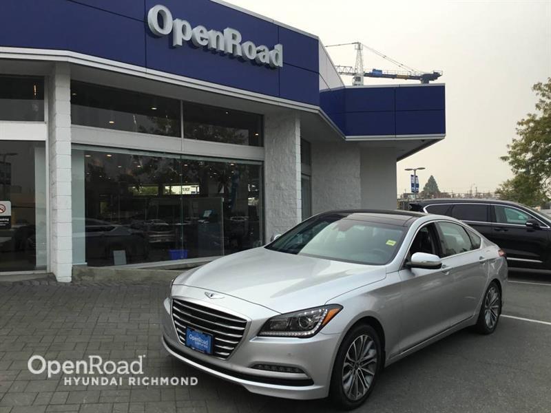 2015 Hyundai Genesis Sedan Technology #GS5885A