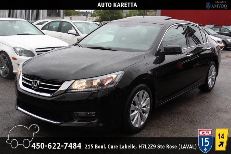 Honda Accord 2013 EX-L, TOIT, CAMERA, CUIR, A/C, #AS8203A