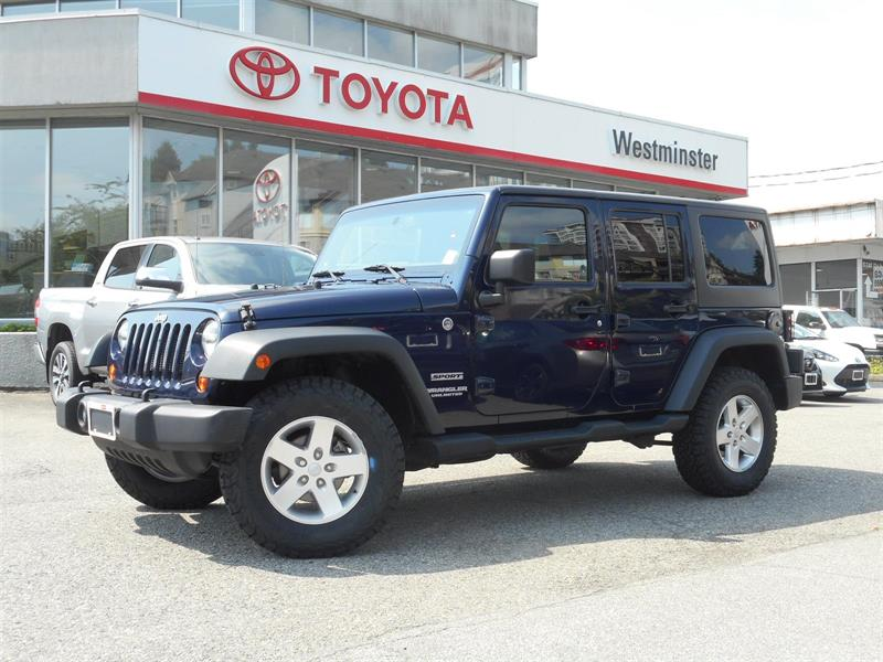 2013 Jeep Wrangler Unlimited Sport Edition #SE18559A