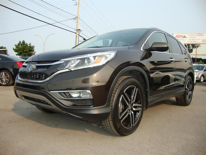 2015 Honda CR-V AWD TOURING NAVI-CAMERA #S7