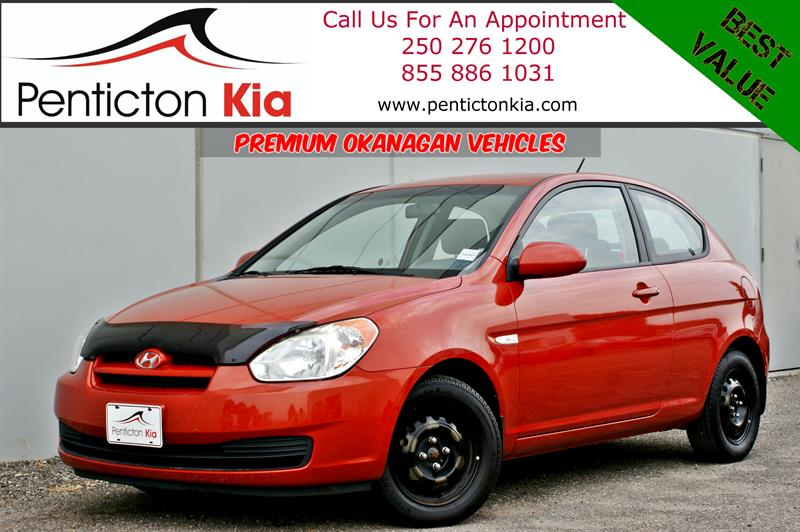 2008 Hyundai Accent GL - Air Conditioning, Low KM's #18N05A