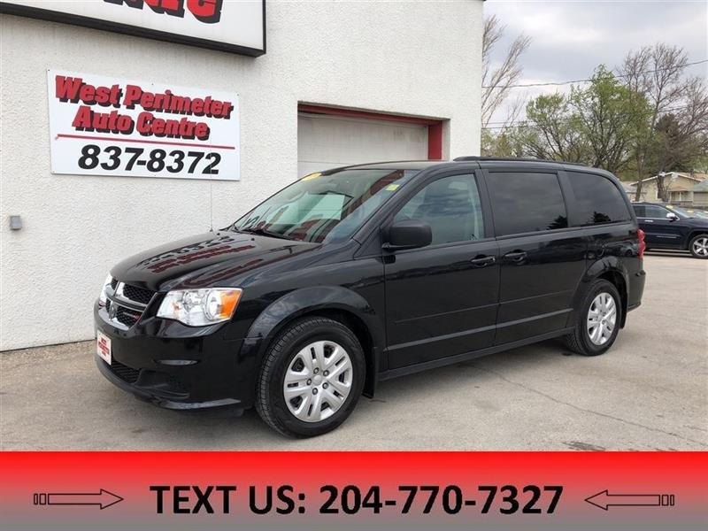 2016 Dodge Grand Caravan SXT StowNGo, Rear A/C, Clean CarProof, Local (MB) #5366
