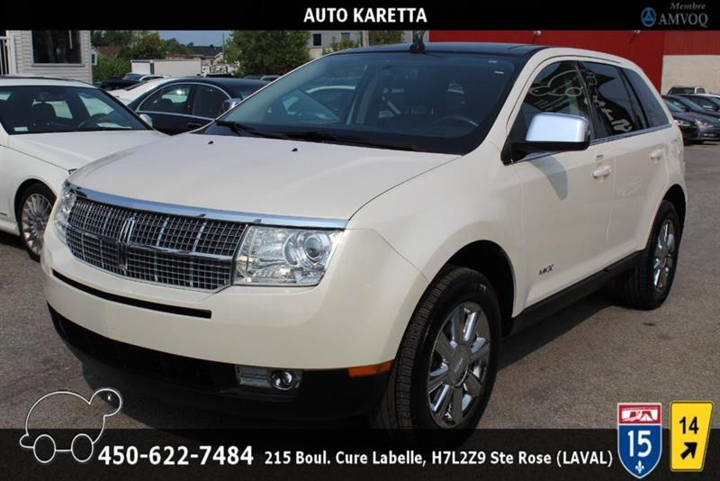 Lincoln MKX 2007 AWD, TOIT PANORAMIC, CUIR, A/C #AS8260
