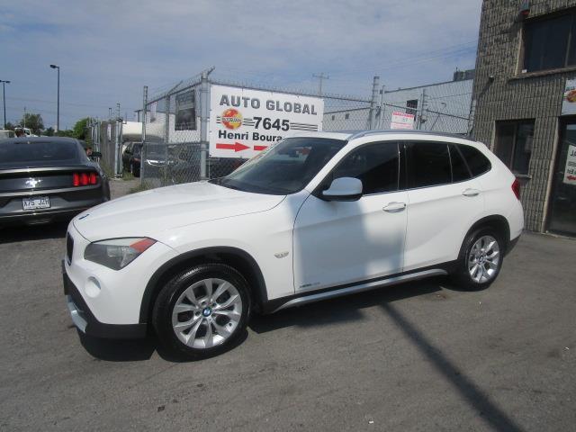BMW X1 2012 28I XDRIVE, CUIR, TOIT PANORAMIQUE,  TRÈS PROPRE! #18-3691NN