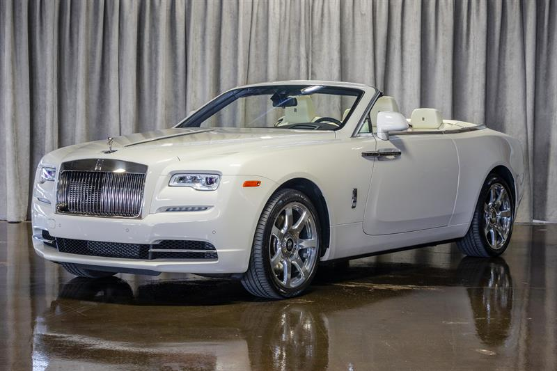 Rolls-Royce Dawn 2018 SPECTACULAR! ENGLISH WHITE ON SEASHELL!