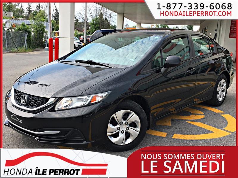 Honda Civic Sdn 2013 4dr Man LX BLUETOOTH  #318897-1