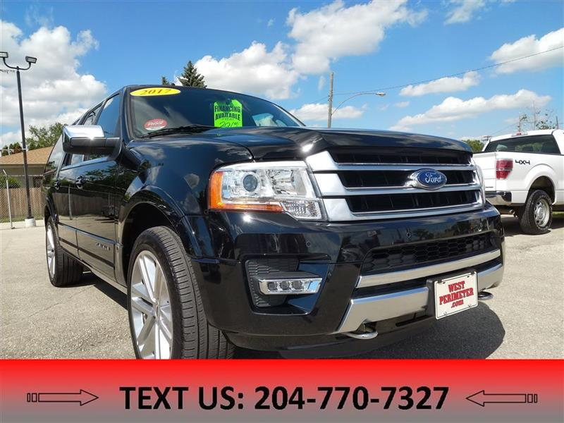 2017 Ford Expedition Max Platinum NAV, Moonroof, Power Hatch #5393