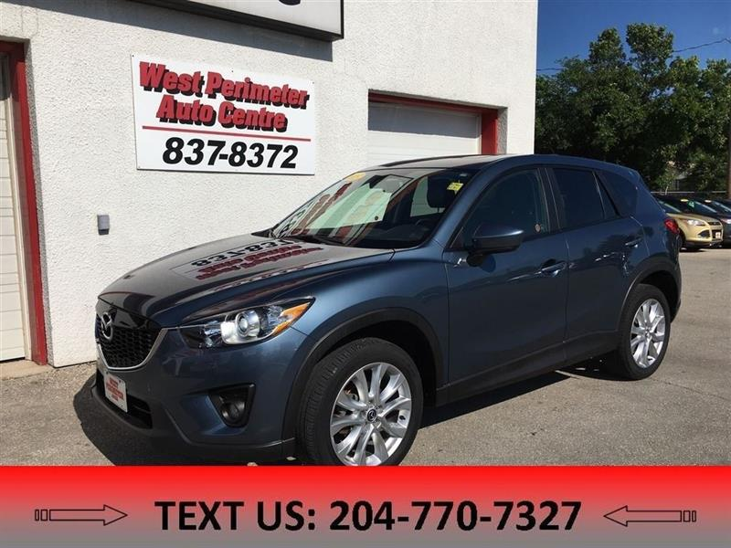 2015 Mazda CX-5 GT Heated Leather, Nav, R-Camera Local #5402