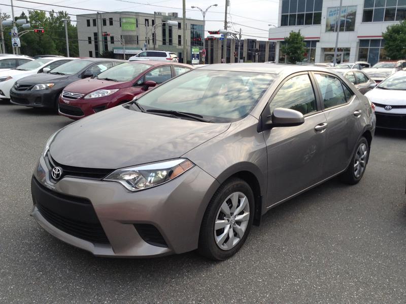 Toyota Corolla 2014 LE #80830-1