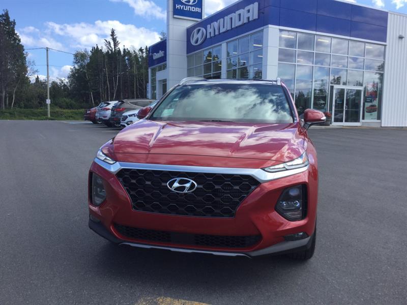 2019 Hyundai Santa Fe 2.0T AWD LUXURY #FE9005