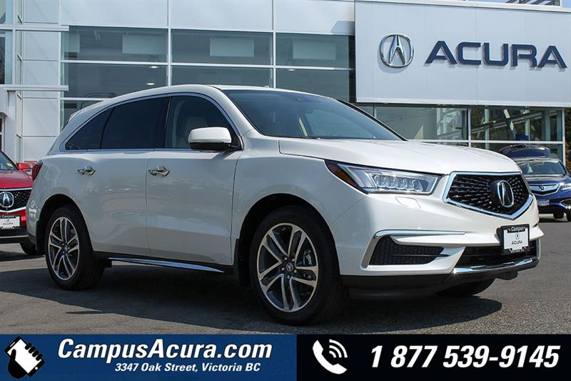 Acura MDX Navigation New For Sale In Victoria At Campus Auto Group - Acura 2018 for sale