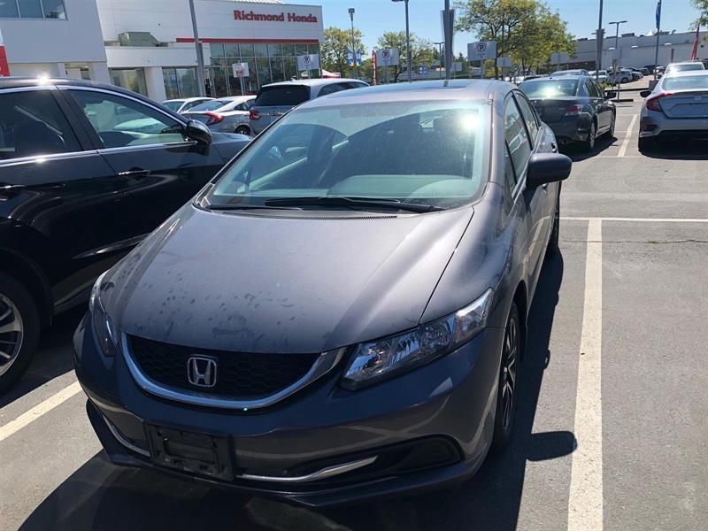 2015 Honda Civic Sedan EX CVT! Honda Certified Extended Warranty to #LH8285