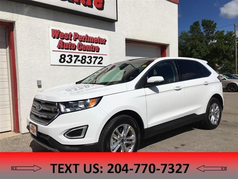 2017 Ford EDGE SEL AWD B-upCAM, Nav, PanoramicS-roof, Leather #5418