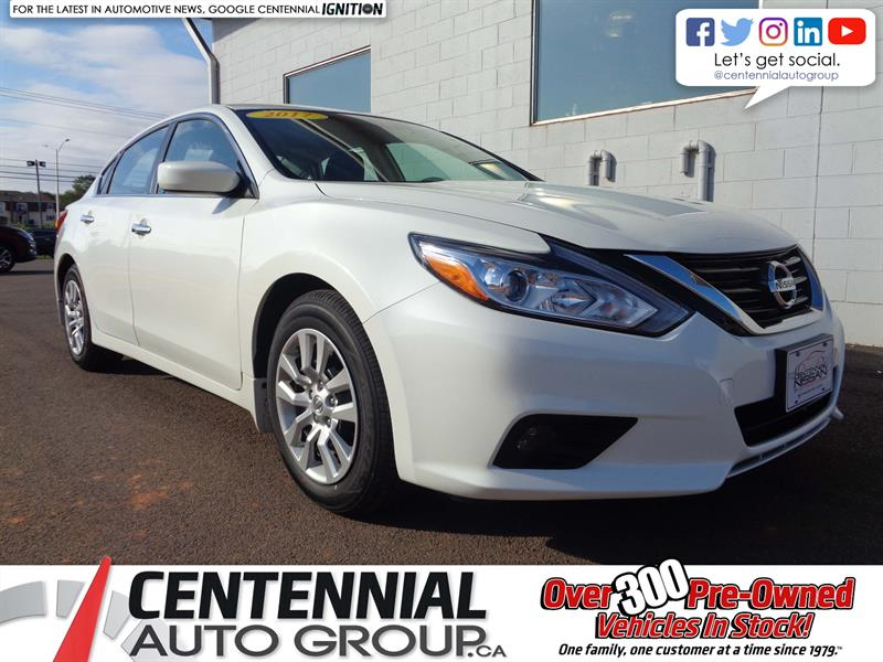 2017 Nissan Altima 2.5 S | FWD | Bluetooth | Heated Seats | BackupCam #P18-100
