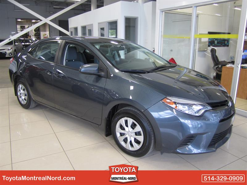 Toyota Corolla 2014 CE/Aut/Ac/Vitres,Portes,Miroirs Electriques #3339 AT