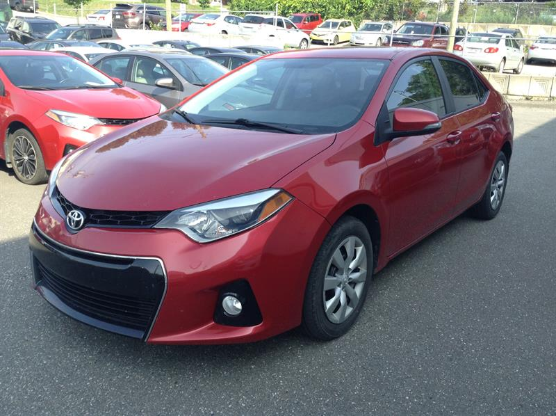 Toyota Corolla 2014 S #81217-1