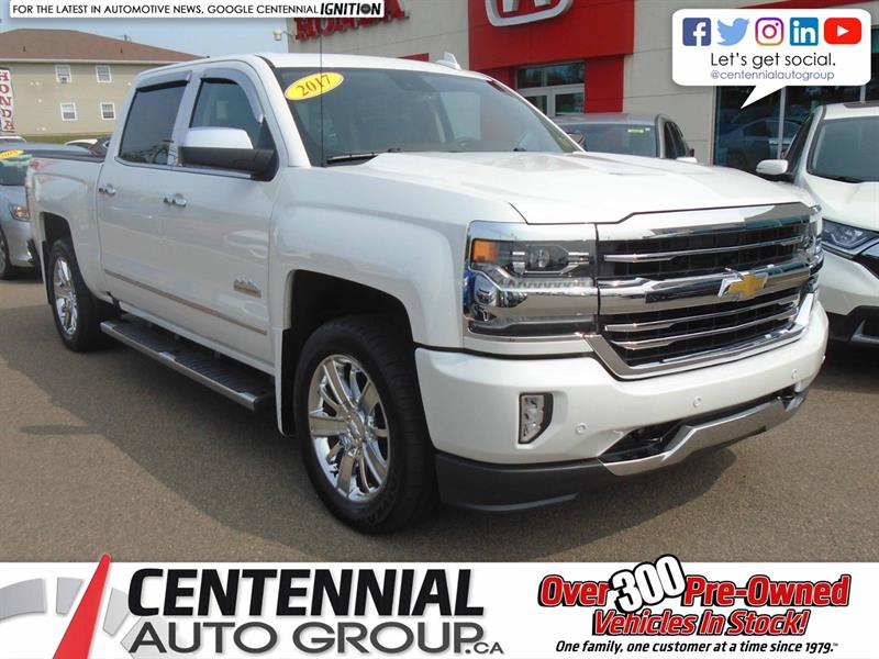 2017 Chevrolet Silverado 1500 High Country | 4WD | Crew Cab | #U1792