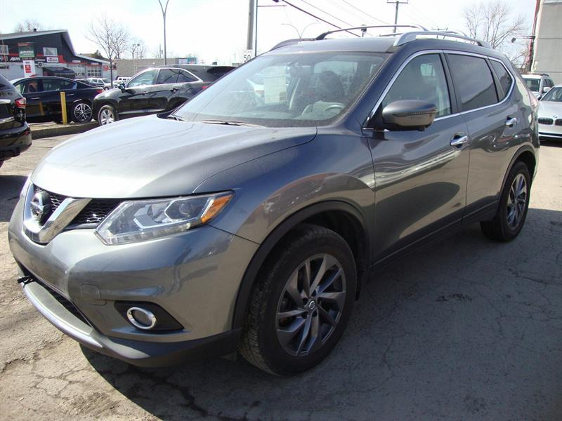 2016 Nissan Rogue SL AWD TECH NAVIGATION #M31
