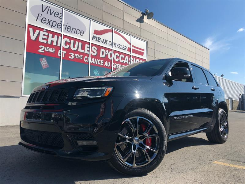 Jeep Grand Cherokee 2017 4WD 4dr SRT+CUIR LAGUNA ROUGE+WOW!! #UD4792