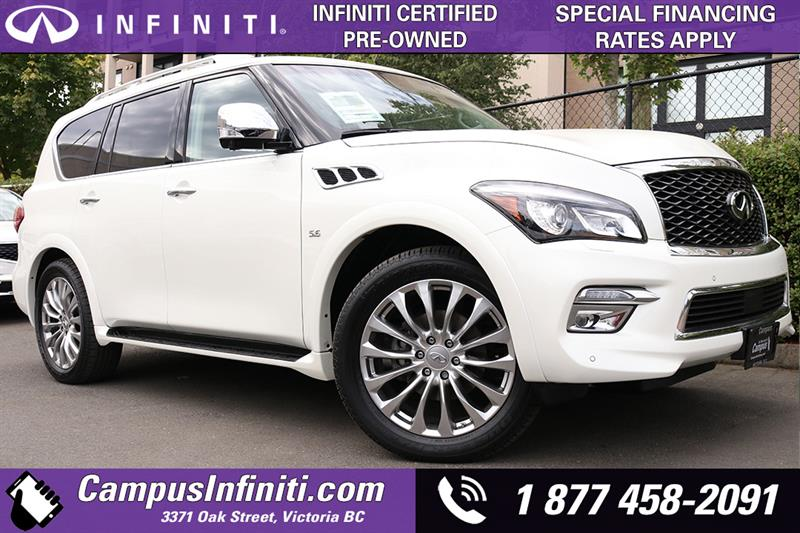 2015 Infiniti Qx80 7 Passenger with Technology Package #B0646