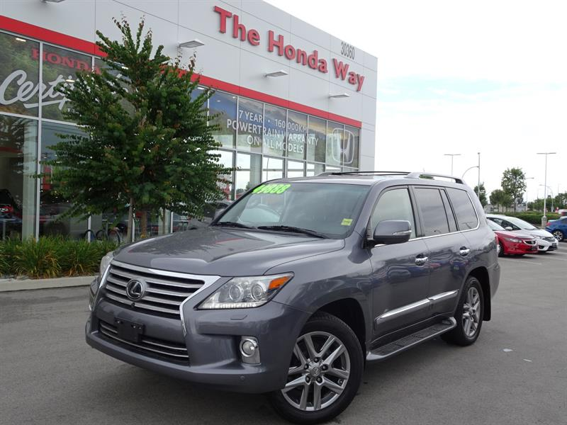 2013 Lexus LX570 Sport Utility - B/U CAMERA, SUNROOF, HEATED STEERI #P5177