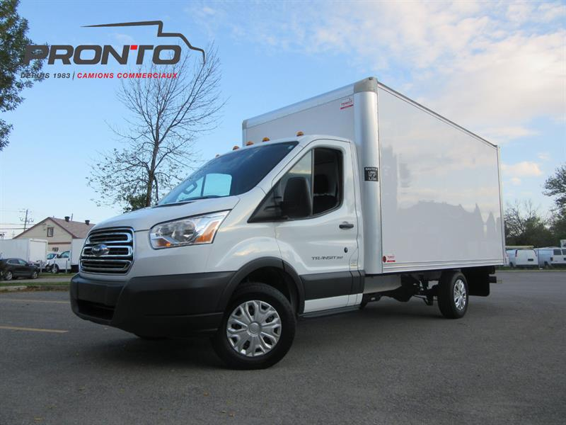 Ford Transit Cutaway 2016 T-350 Cube 14 pieds ** roue simple! ** #3711